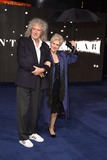 Anita Dobson Photo - Brian May and wife Anita Dobson arriving for the Interstellar European premiere at the Odeon Leicester Square London 29102014 Picture by Steve Vas  Featureflash