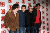 Alex James Photo - Graham Coxon Damon Albarn Dave Rowntree and Alex James of Blur arriving for The Q Awards 2012 held at the Grosvenor Hotel London 22102012 Picture by Henry Harris  Featureflash