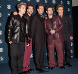 NSYNC Photo - 23FEB2000 Pop group NSYNC at the 42nd Annual Grammy Awards in Los Angeles Paul Smith  Featureflash