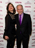 Alastair Stewart Photo - Katie Derham and Alastair Stewart arriving for The 2012 Costa Book Awards at Quaglianos Restaurant in London on 24th Jan 2012Pics by Simon Burchell  Featureflash