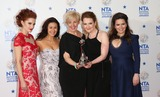 Julie Hesmondhalgh Photo - Paula Lane Hayley Tamaddon Julie Hesmondhalgh Jennie McAlpine Debbie Rush atThe National Television Awards 2014 (NTAs) held at the O2 Arena - Press Room London 22012014 Picture by Henry Harris  Featureflash