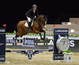 Alejandro Karolyi Photo - Alejandro Karolyi (Venezuela) riding Blitz in the Artemide Trophy International jumping competition at the 2015 Longins Masters Los Angeles at the LA Convention CentreOctober 1 2015  Los Angeles CAPicture Paul Smith  Featureflash