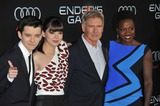 Asa Butterfield Photo - Asa Butterfield (left) Hailee Steinfeld Harrison Ford  Viola Davis at the Los Angeles premiere of their movie Enders Game at the TCL Chinese TheatreOctober 28 2013  Los Angeles CAPicture Paul Smith  Featureflash