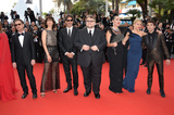 Cannes Jury Photo - Cannes jury members Sienna Miller Jake Gyllenhaal Sophie Marceau Xavier Dolan Rokia Traore Guillermo del Toro Rossy de Palma  Joel  Ethan Coen at the gala opening ceremony of the 68th Festival de CannesMay 13 2015  Cannes FrancePicture Paul Smith  Featureflash