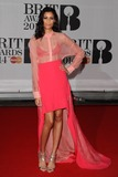 Aluna Francis Photo - Aluna Francis (AlunaGeorge) arriving for the BRIT Awards 2014 at the O2 Arena Greenwich  London 19022014 Picture by Steve Vas  Featureflash
