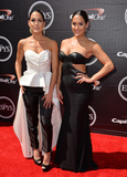 Brie Bella Photo - Wrestling twins Nikki  Brie Bella at the 2015 ESPY Awards at the Microsoft Theatre LA LiveJuly 15 2015  Los Angeles CAPicture Paul Smith  Featureflash