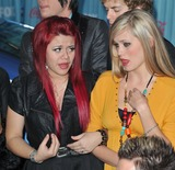 Allison Iraheta Photo - American Idol finalists Allison Iraheta  Megan Corkrey (right) at the American Idol Final 13 Party at Area Nightclub West HollywoodMarch 5 2009  Los Angeles CAPicture Paul Smith  Featureflash