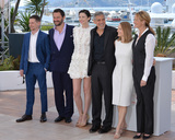 Jack OConnell Photo - Actressdirector Jodie Foster  actors Jack OConnell Dominic West Caitriona Balfe George Clooney  Julia Roberts at the photocall for Money Monster at the 69th Festival de CannesMay 12 2016  Cannes FrancePicture Paul Smith  Featureflash