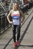 Amy Guy Photo - Amy Guy at the photocall for celebs running the 2014 London Marathon London 09042014 Picture by Steve Vas  Featureflash