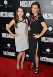 Alix Angelis Photo - LOS ANGELES CA August 22 2016 Actresses Alix Angelis  Carrie Lazar at the Los Angeles premiere of Mechanic Resurrection at the Arclight Theatre HollywoodPicture Paul Smith  Featureflash