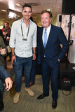 Kevin Pietersen Photo - Kevin Pietersen  Piers Morgan at the BGC Charity Day 2015 at Canary Wharf London September 11 2015  London UKPicture Steve Vas  Featureflash