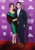 Graumans Chinese Theatre Photo - HOLLYWOOD CA - MARCH 1  Actor Darren Criss (R) and Mia Swier (L) attend Red Carpet Event for FXs Feud Bette And Joan at Graumans Chinese theatre on March 1 2017 in Hollywood California  (Photo by Barry KingImageCollectcom)