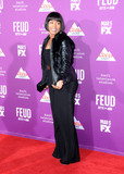 Graumans Chinese Theatre Photo - HOLLYWOOD CA - MARCH 1 Actress Angela Bassett attends Red Carpet Event for FXs Feud Bette And Joan at Graumans Chinese theatre on March 1 2017 in Hollywood California  (Photo by Barry KingImageCollectcom)