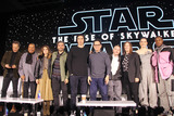 Chris Terrio Photo - Richard E Grant Oscar Isaac Billy Dee Williams Keri Russell Adam Driver JJ Abrams Chris Terrio Kathleen Kennedy Daisy Ridley John Boyega 12042019 Star Wars The Rise of the Skywalker Press Conference held in Pasadena CA Photo by Izumi Hasegawa  HollywoodNewsWireco