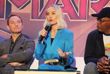 Jude Law Photo - Jude Law Brie Larson Samuel L Jackson 02222019 Captain Marvel Press Conference held at The Beverly Hilton in Beverly Hills CA Photo by Izumi Hasegawa  HollywoodNewsWireco