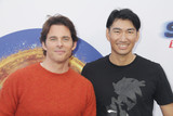 James Marsden Photo - James Marsden Haruki Satomi 01252020 Sonic The Hedgehog Family Day Event held at The Paramount Theater in Los Angeles CA Photo by Izumi Hasegawa  HollywoodNewsWireco