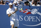 Nicolas Almagro Photo - Nikolay Davydenko of Russia playing against Nicolas Almagro of Spain during day six of the 2007 US Open at the Billie Jean King National Tennis Center on September 1 2007 in the Flushing neighborhood of the Queens borough of New York City
