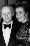 Anthony Hopkins Photo - London UK LIBRARY  Anthony Hopkins and Emma Thompson at an event to promote The Remains of the DayProbably 1989 RefLMK11-SLIB171020-001  PIP-Landmark MediaWWWLMKMEDIACOM