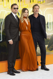 Gary Mitchell Photo - London England Leonardo DiCaprio Margot Robbie and Brad Pitt at  the UK Premiere of Once Upon a Time in Hollywood Odeon Luxe Leicester Square London England 30th July 2019Ref LMK386-J5279-310719Gary MitchellLandmark MediaWWWLMKMEDIACOM
