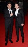Logan Lerman Photo - London UK Jon Bernthal and Logan Lerman at the  2014 BFI LFF Closing Gala Screening of Fury  on Sunday 19th October 2014  Ref LMK392-49852-201014Vivienne VincentLandmark Media WWWLMKMEDIACOM David Ayer and Guest