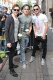 Harry Judd Photo - London UK Danny Jones Tom Fletcher and Harry Judd of McFly sighted at BBC Radio One 31st March 2011Evil ImagesLandmark Media