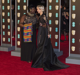 Andrea Riseborough Photo - London UK 180218Andrea Riseborough and Phyll Opoku-Gyimah at the EE British Academy Film Awards (BAFTA) held at Royal Albert HallRef LMK386 -MB1160-190218Gary MitchellLandmark Media WWWLMKMEDIACOM