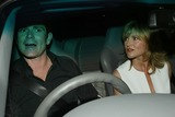 Anthea Turner Photo - London Grant Bovey and wife TV presenter Anthea Turner  arrive at the Shane Ritchie party in West London 13th March 2004 Ref ALEXANDRELANDMARK MEDIALMK