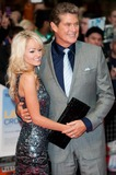 Hayley Roberts Photo - London UK Hayley Roberts and David Hasselhoff at the Larry Crowne UK Premiere held at the Vue Cinema Westfield Shopping Centre 6th June 2011Justin NgLandmark Media