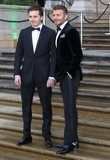 Brooklyn Beckham Photo - London UK Brooklyn Beckham and David Beckham at World Premiere of Netflixs Our Planet at the Natural History Museum Kensington London on April 4th 2019Ref LMK73-J4691-050419Keith MayhewLandmark MediaWWWLMKMEDIACOM