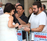 charlotte riley Photo - London UK Charlotte Riley at Swimming With Men UK Premiere at the Curzon Mayfair London on July 4th 2018Ref LMK73-J2258-050718Keith MayhewLandmark MediaWWWLMKMEDIACOM