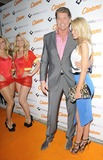 Hayley Roberts Photo - London UK Models David Hasselhoff and Hayley Roberts at the Clintons Celebrity Fastcard launch party No 5 Cavendish Square nightclub Cavendish Square 18th October 2011Can NguyenLandmark Media