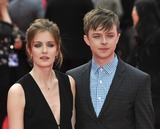 Anna Wood Photo - London UK Anna Wood and Dane DeHaan at  the World Premiere of The Amazing  Spider-Man 2 at The Odeon Cinema Leicester Square London England UK on 10th April 2014Ref LMK386-48131-110414Gary MitchellLandmark MediaWWWLMKMEDIACOM