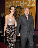 George Clooney Photo - LondonUK  George Clooney and Amal Clooney at the Catch 22 - TV Series premiere at the Vue Westfield Westfield Shopping Centre Shepherds Bush London 15th  May 2019RefLMK73-S2430-169519Keith MayhewLandmark MediaWWWLMKMEDIACOM