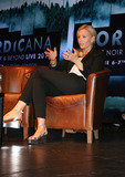 Sofia Helin Photo - London UK  Sofia Helin at Nordicana Nordic Noir  Beyond event at the Troxy London Day 1 6th June 2015 RefLMK00-51531-070615 Steve BealingLandmark Media WWWLMKMEDIACOM