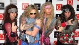 Steel Panther Photo - London UK Satchel Michael Starr lexxi Foxxx and Stix Zadinia of Steel Panther at The Q Awards held at the Grosvenor House Hotel Park Lane London 26th October 2009Keith MayhewLandmark Media