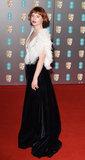 Albert Hall Photo - London UK Jessie Buckley at the 73rd British Academy Film Awards held at The Royal Albert Hall South Kennsington on Sunday 2 February 2020 Ref LMK392 -J6086-030220Vivienne VincentLandmark Media WWWLMKMEDIACOM