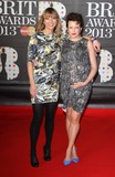 Annie Mac Photo - London UK Sara Cox and Annie Mac   at    the 2013 Brit Awards held at the O2 Arena in North Greenwich21 February 2012Keith MayhewLandmark Media