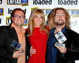 Alan Carr Photo - London Abbey Clancy with Justin Lee Collins and Alan Carr at the Loaded LAFTAS 4th Annual Comedy Knees-up held at Sketch04 October 2006Ali KadinskyLandmark Media