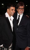 Amitabh Bachchan Photo - London UK Akshay Kumar and Amitabh Bachchan at the premiere of Chandni Chowk to China at the Empire Cinema Leicester Square12 January 2009Keith MayhewLandmark Media