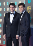 Chris Miller Photo - London UK Chris Miller and Phil Lord    at EE British Academy Film Awards at the Royal Albert Hall Kensington London on Sunday February 10th 2019Ref LMK386-S2120-110219Gary MitchellLandmark Media WWWLMKMEDIACOM