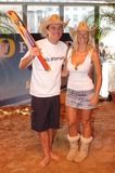 Phil Tufnell Photo - London Former Test cricket star Phil Tufnell and Annalise Braakensiek ex-Home and Away star launch a one-off charity cricket match to mark Fosters Australia Day celebrations Trafalgar Square26 January 2005Ali KadinskyLandmark Media