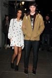 Aluna Francis Photo - London UK Aluna Francis and George Reid of AlunaGeorge arriving at the Brit Awards 2013 Nominations Launch at the Savoy Hotel The Strand London January 10th 2013Keith MayhewLandmark Media