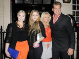 Hayley Roberts Photo - London UK L-R Hayley Hasselhoff Taylor Ann Hasselhoff Hayley Roberts and David Hasselhoff at the Theatre Royal Haymarket after a performance of  Flare Point 28th May 2011 Can NguyenLandmark Media