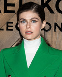 Alexandra Daddario Photo - MANHATTAN NEW YORK CITY NEW YORK USA - FEBRUARY 12 Actress Alexandra Daddario arrives at the Michael Kors Collection FallWinter 2020 Runway Show - February 2020 during New York Fashion Week held at the American Stock Exchange on February 12 2020 in Manhattan New York City New York United States (Photo by Image Press Agency)
