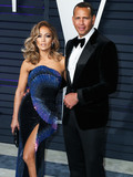Alex Rodriguez Photo - (FILE) Jennifer Lopez and Alex Rodriguez engaged Music icon Jennifer Lopez and retired baseball star Alex Rodriguez are engaged after two years of dating The two celebs who often document their relationship milestones on social media took to Instagram on Saturday night to share the news She said yes Rodriguez said in a post showing JLos hand now bearing a huge engagement ring BEVERLY HILLS LOS ANGELES CA USA - FEBRUARY 24 Singer Jennifer Lopez (wearing Zuhair Murad Couture) and boyfriend Alexander Rodriguez arrive at the 2019 Vanity Fair Oscar Party held at the Wallis Annenberg Center for the Performing Arts on February 24 2019 in Beverly Hills Los Angeles California United States (Photo by Xavier CollinImage Press Agency)