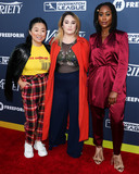 Adele Photo - HOLLYWOOD LOS ANGELES CALIFORNIA USA - AUGUST 06 Actresses Sherry Cola Emma Hunton and Zuri Adele arrive at Varietys Power Of Young Hollywood 2019 held at the h Club Los Angeles on August 6 2019 in Hollywood Los Angeles California United States (Photo by Xavier CollinImage Press Agency)