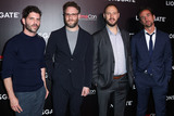 James Weaver Photo - LAS VEGAS NEVADA USA - APRIL 04 Jonathan Levine Seth Rogen Evan Goldberg and James Weaver arrive at the CinemaCon 2019 - Lionsgate Presentation and Screening of Long Shot held at The Colosseum at Caesars Palace during CinemaCon the official convention of the National Association of Theatre Owners on April 4 2019 in Las Vegas Nevada United States (Photo by Xavier CollinImage Press Agency)