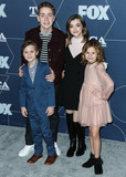 Ashley Boettcher Photo - PASADENA LOS ANGELES CALIFORNIA USA - JANUARY 07 Connor Kalopsis Jack Stanton Oakley Bull and Ashley Boettcher arrive at the FOX Winter TCA 2020 All-Star Party held at The Langham Huntington Hotel on January 7 2020 in Pasadena Los Angeles California United States (Photo by Xavier CollinImage Press Agency)