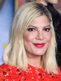 Tori Spelling Photo - HOLLYWOOD LOS ANGELES CALIFORNIA USA - DECEMBER 09 Tori Spelling arrives at the World Premiere Of Columbia Pictures Jumanji The Next Level held at the TCL Chinese Theatre IMAX on December 9 2019 in Hollywood Los Angeles California United States (Photo by Xavier CollinImage Press Agency)