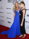 Justin Bieber Photo - WESTWOOD LOS ANGELES CALIFORNIA USA - JANUARY 27 Paris Hilton and Hailey Rhode Baldwin Bieber arrive at the Los Angeles Premiere Of YouTube Originals Justin Bieber Seasons held at the Regency Bruin Theatre on January 27 2020 in Westwood Los Angeles California United States (Photo by Xavier CollinImage Press Agency)